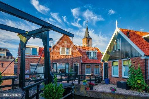 872969580istockphoto Volendam - small historical Dutch village (HDRi) 1007736978