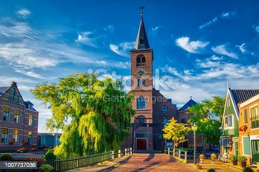 872969580istockphoto Volendam - small historical Dutch village (HDRi) 1007737036