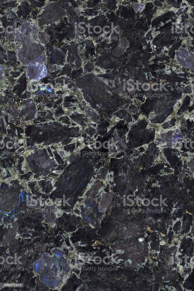 Volga Blue Granite royalty-free stock photo