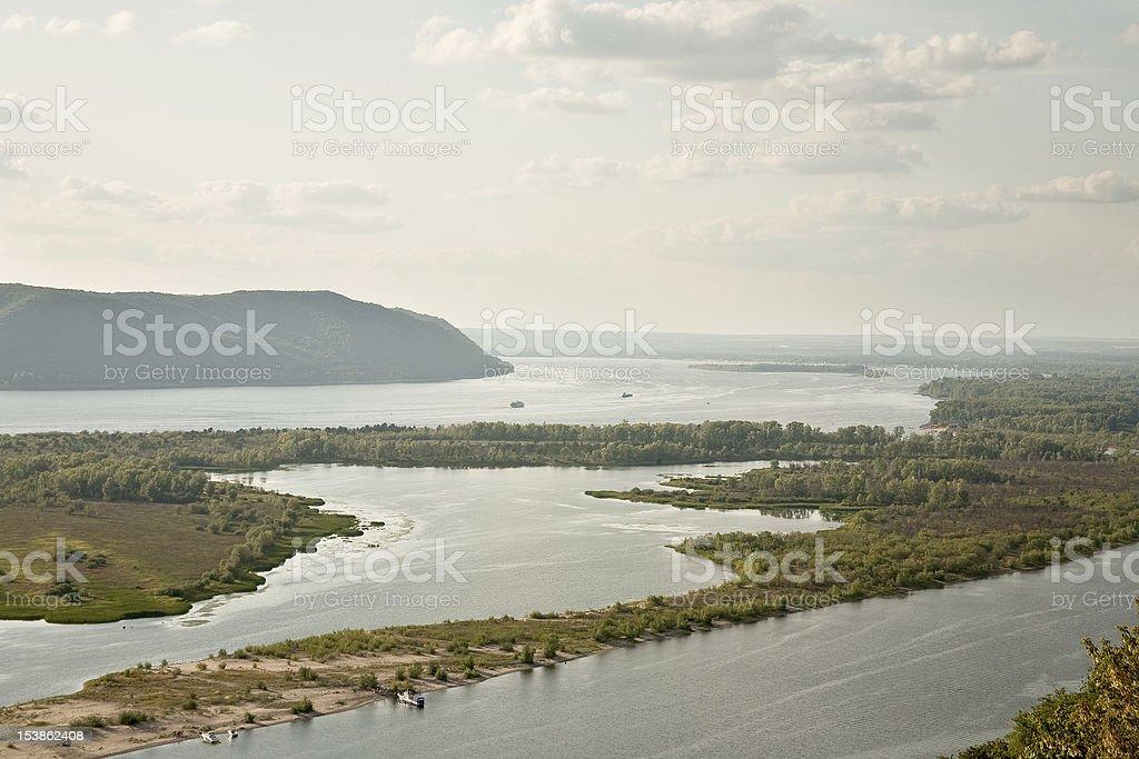 Volga stock photo