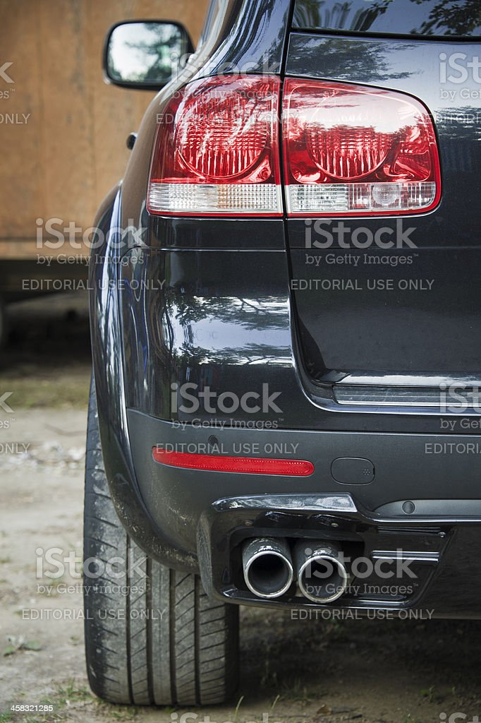 Volkswagen back royalty-free stock photo