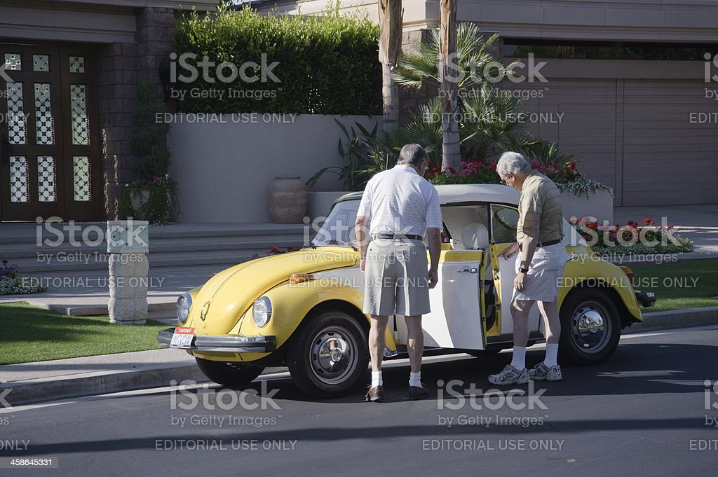 Volkswagen Beatle royalty-free stock photo