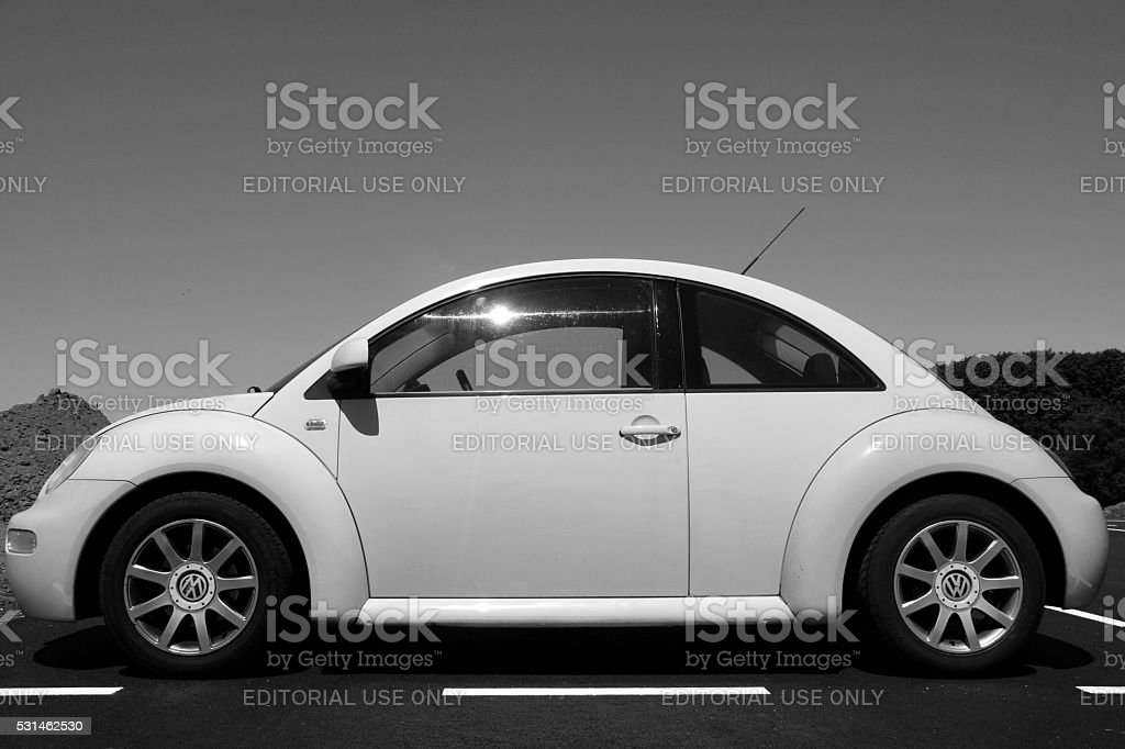 Volkswagen Beetle Black And White Side View Stock Photo Download Image Now Istock