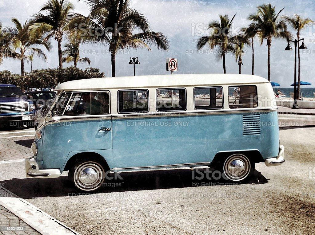VW Volkswagen Bus stock photo