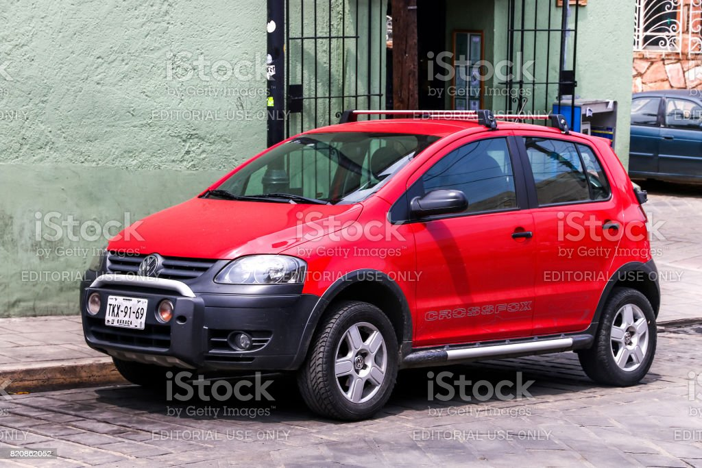 Volkswagen CrossFox stock photo