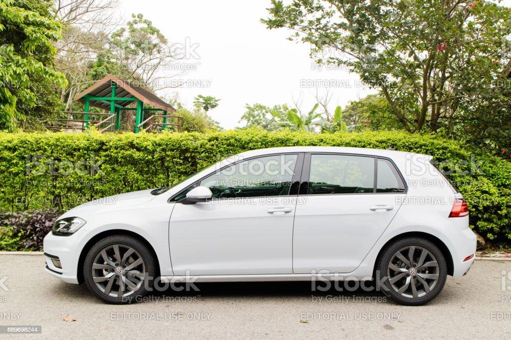 Volkswagen Golf GT 2017 Test Drive Day stock photo