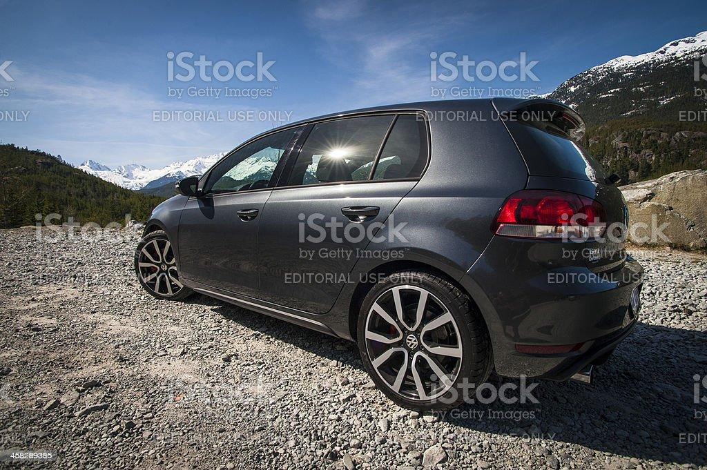 2012 Volkswagen Golf GTI royalty-free stock photo