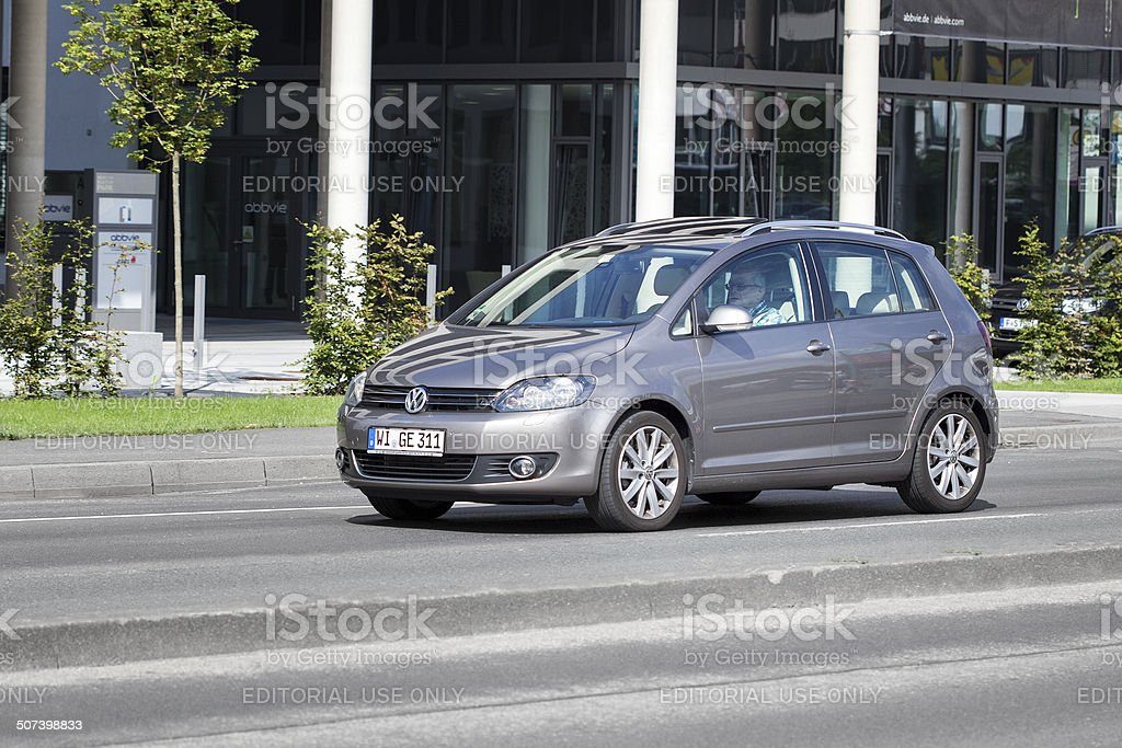 Volkswagen Golf Plus royalty-free stock photo
