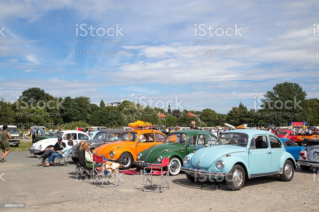 Volkswagen Kaefer Meeting in Celle, Germany stock photo