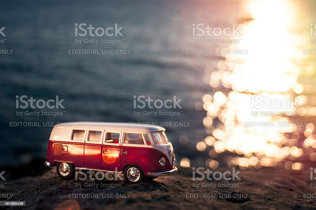 Volkswagen Microbus stock photo