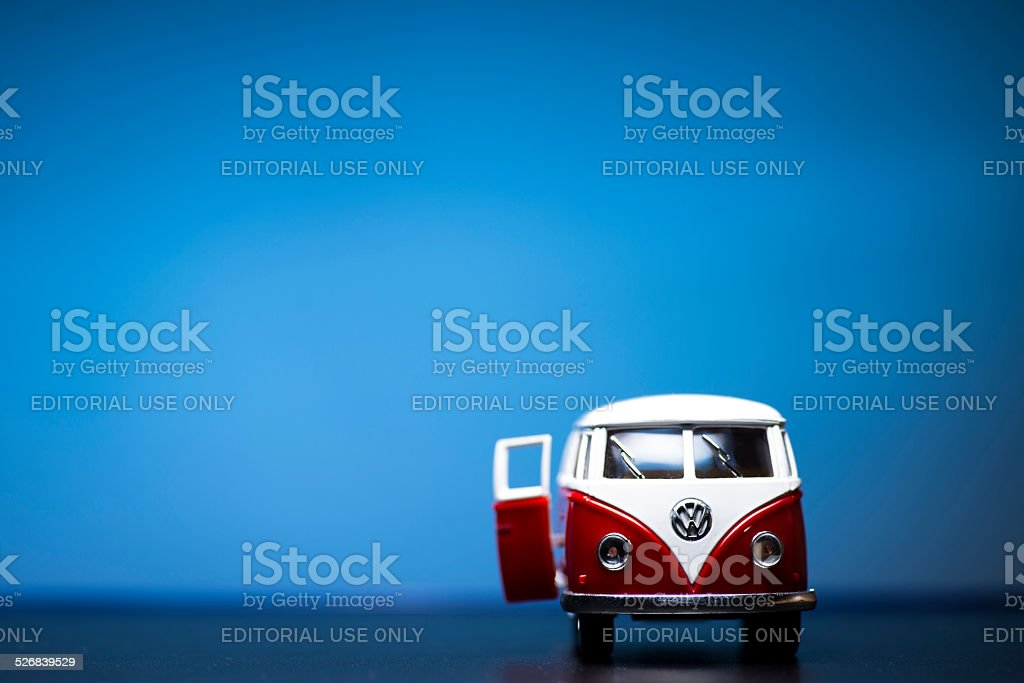 Volkswagen Microbus stock photo