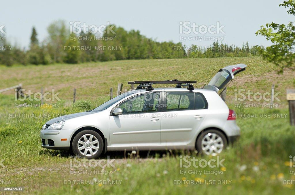 Volkswagen Rabbit royalty-free stock photo