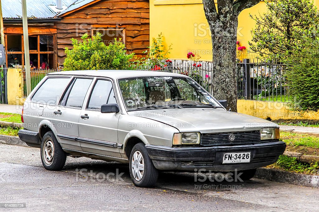 Volkswagen Santana stock photo