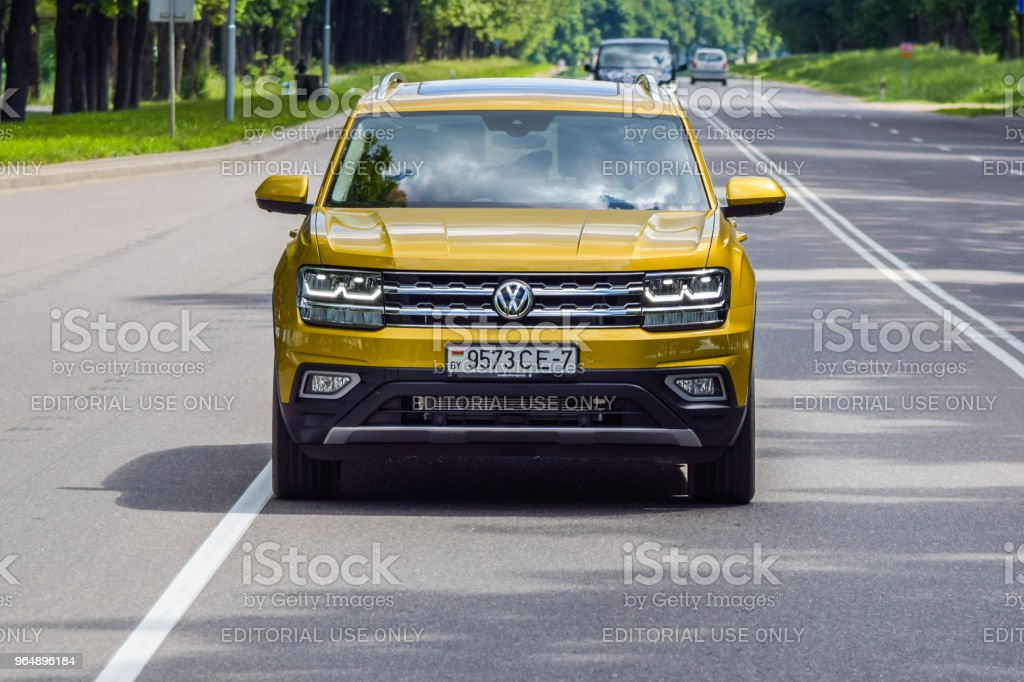 Volkswagen Teramont / Atlas royalty-free stock photo