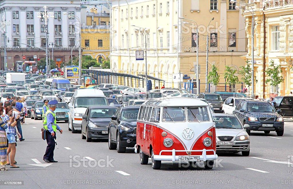 Volkswagen Transporter Lizenzfreies stock-foto