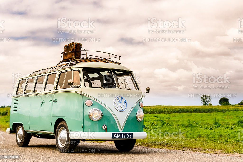 Volkswagen Transporter T1 stock photo