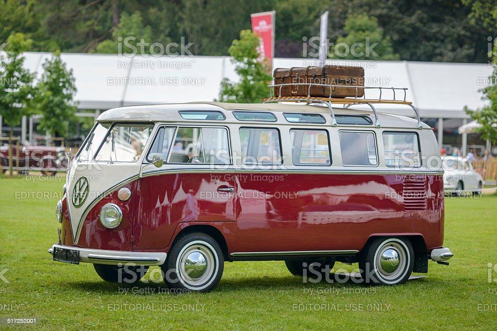 Volkswagen Transporter T1 split screen panel van stock photo