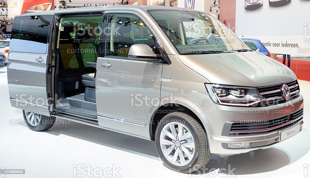 Volkswagen Transporter T6 Multivan people carrier stock photo