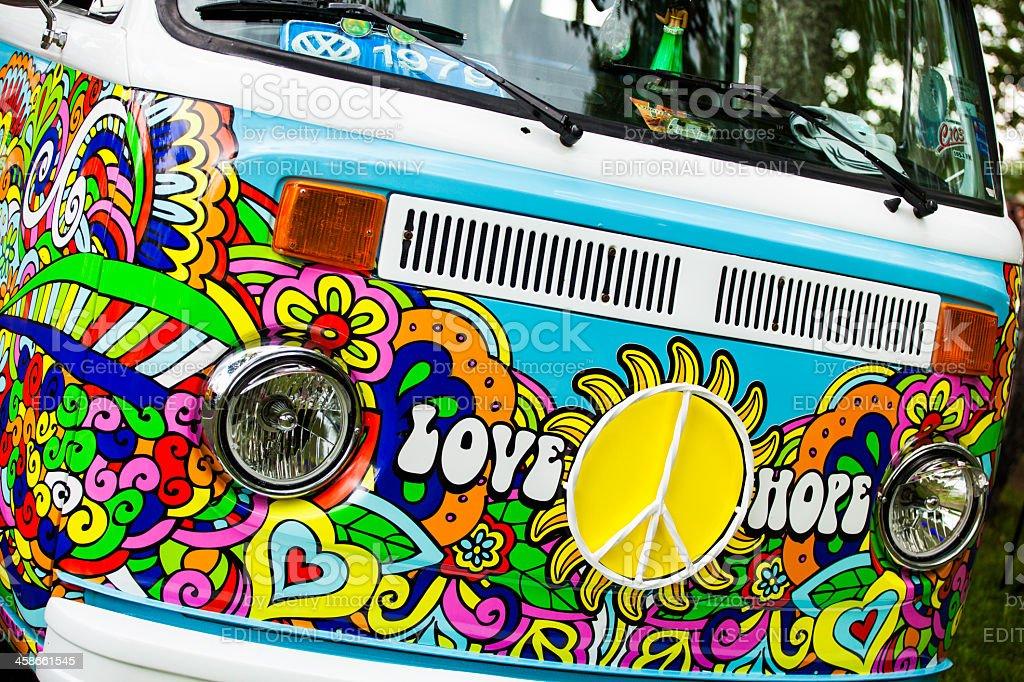 Volkswagen Type 2 Bus stock photo