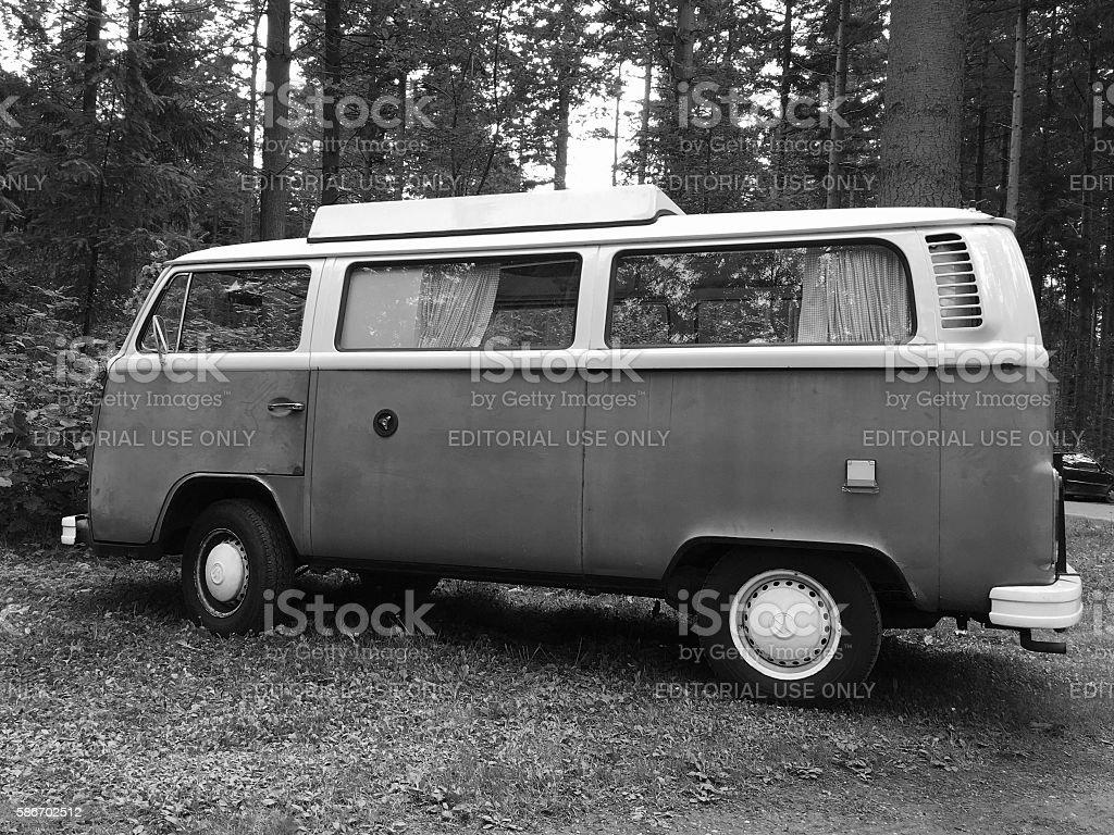 Volkswagen  Type 2 - VW Transporter T2 stock photo