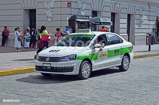 istock Volkswagen Vento in taxi version 908663450
