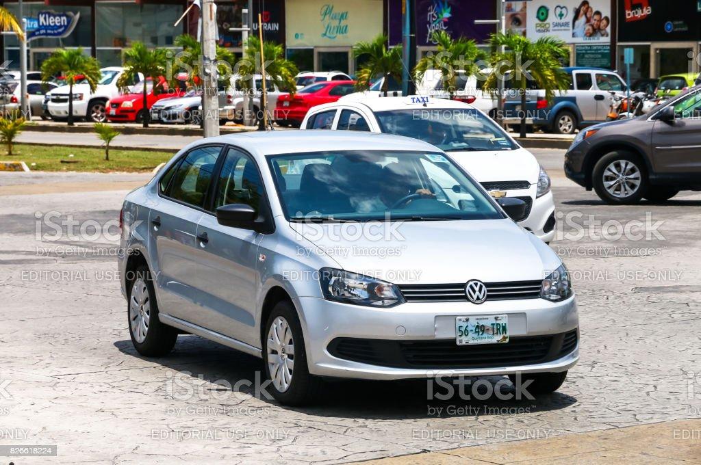 Volkswagen Vento stock photo