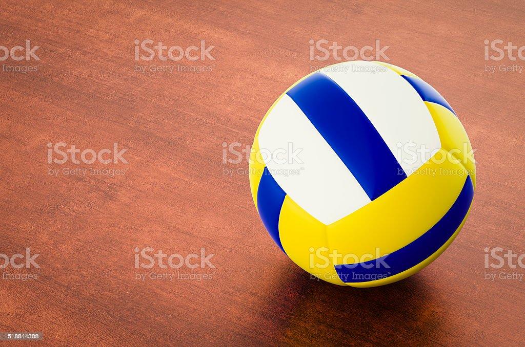 Volleyball 3D-illustration – Foto