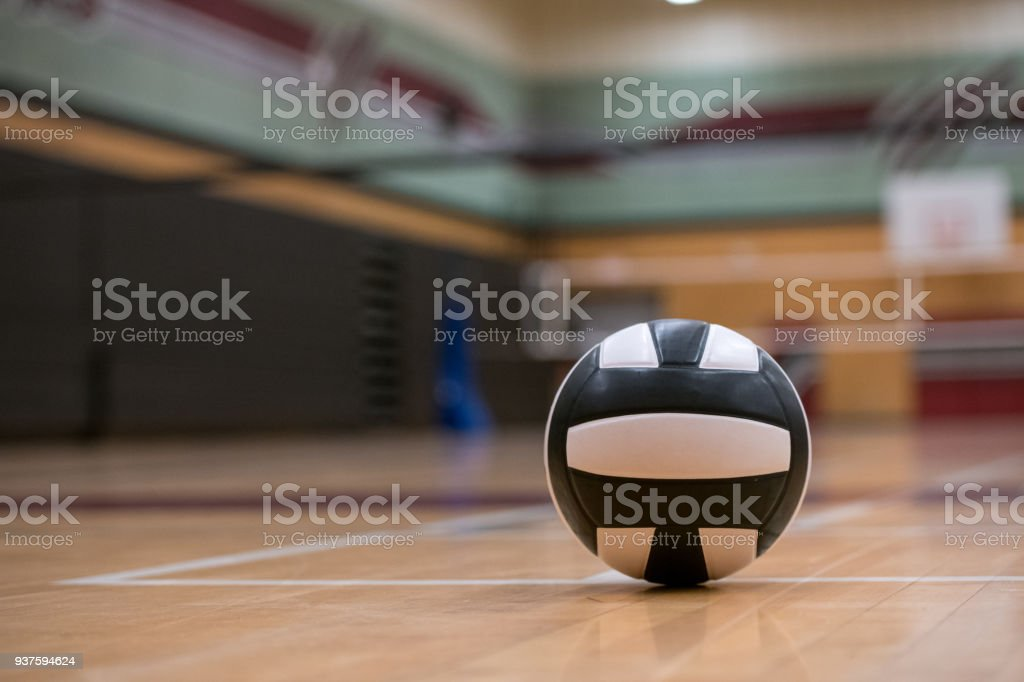 Volleyball Background stock photo