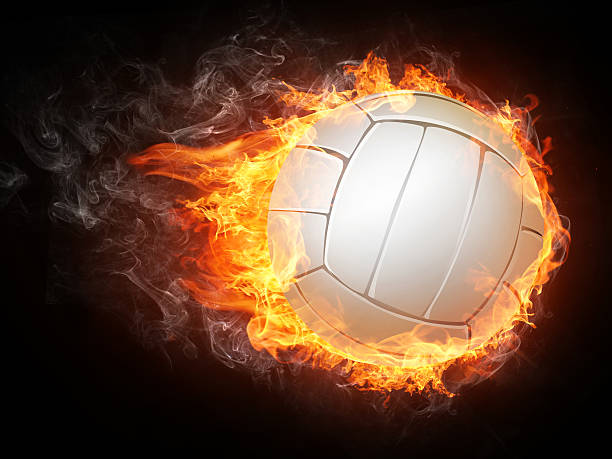 volleyball ball - volleyball stock photos and pictures
