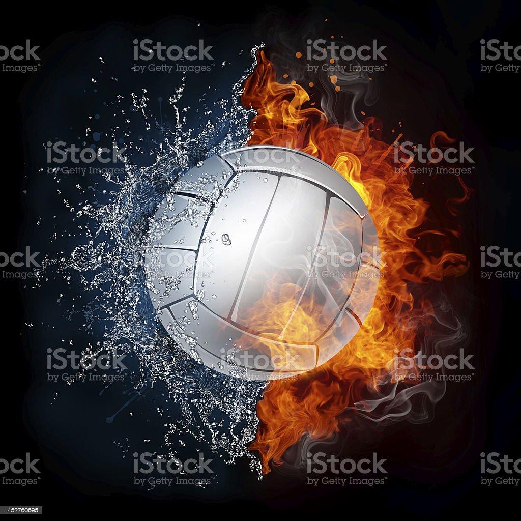 Volleyball Ball stock photo