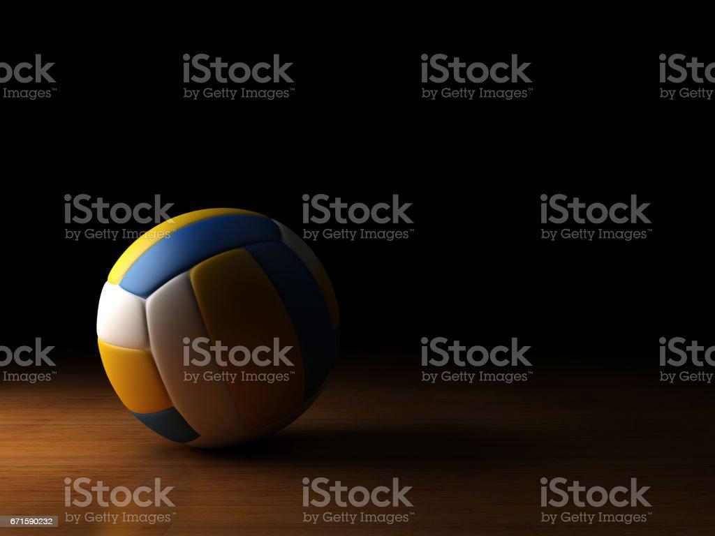 projecteur de volley ball photo libre de droits