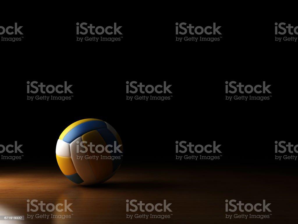 volleyball ball spotlight - Photo
