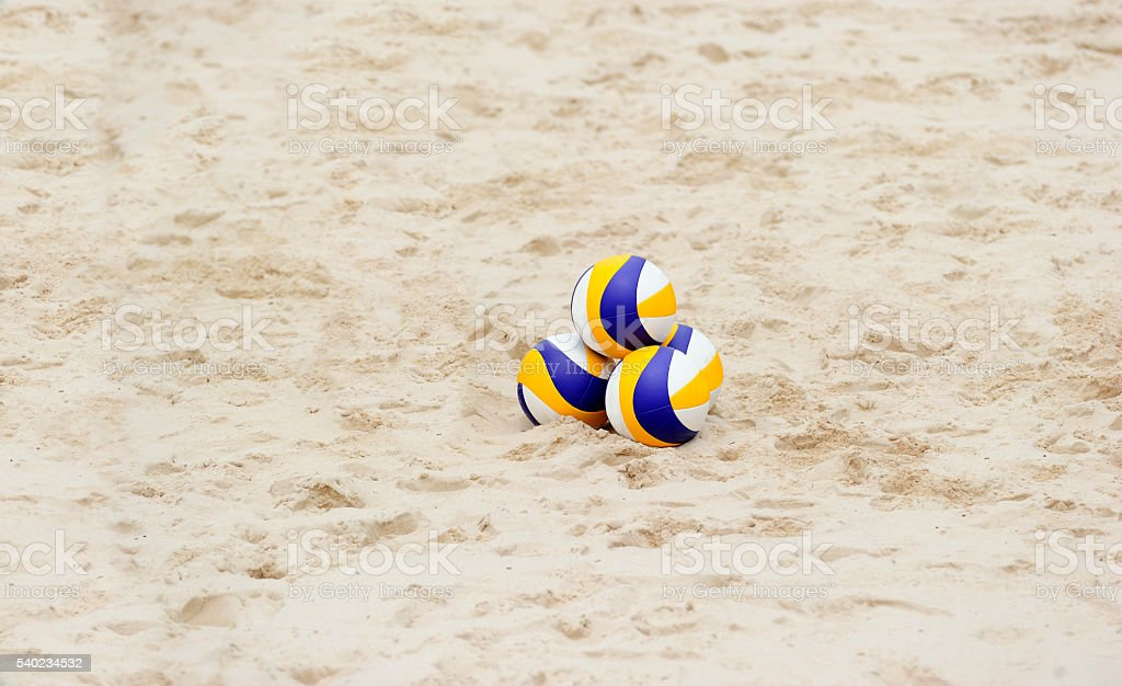 Strand-Volleyball – Foto