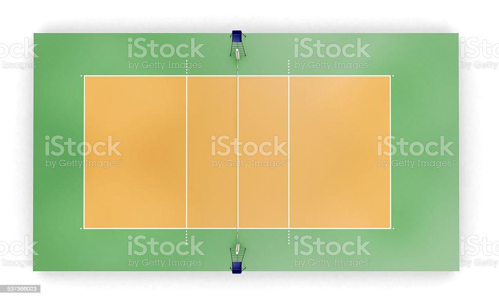 Foto de quadra de v lei ou campo vista superior e mais - Campi da pallavolo gratis stampabili ...