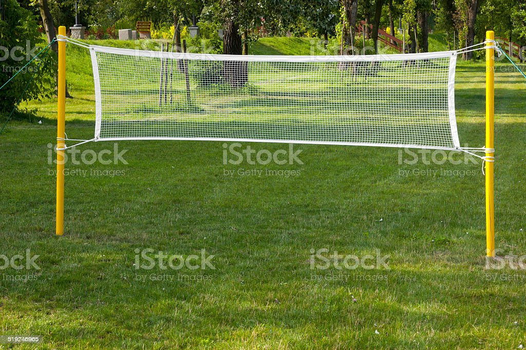 Volleyball Court stock photo