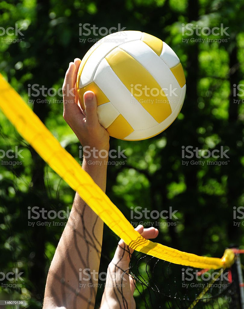 Volleyball Game royalty-free stock photo