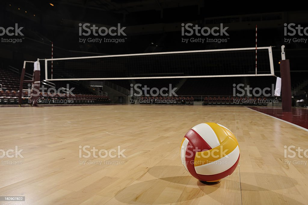 Volley-ball sur une salle de sport - Photo
