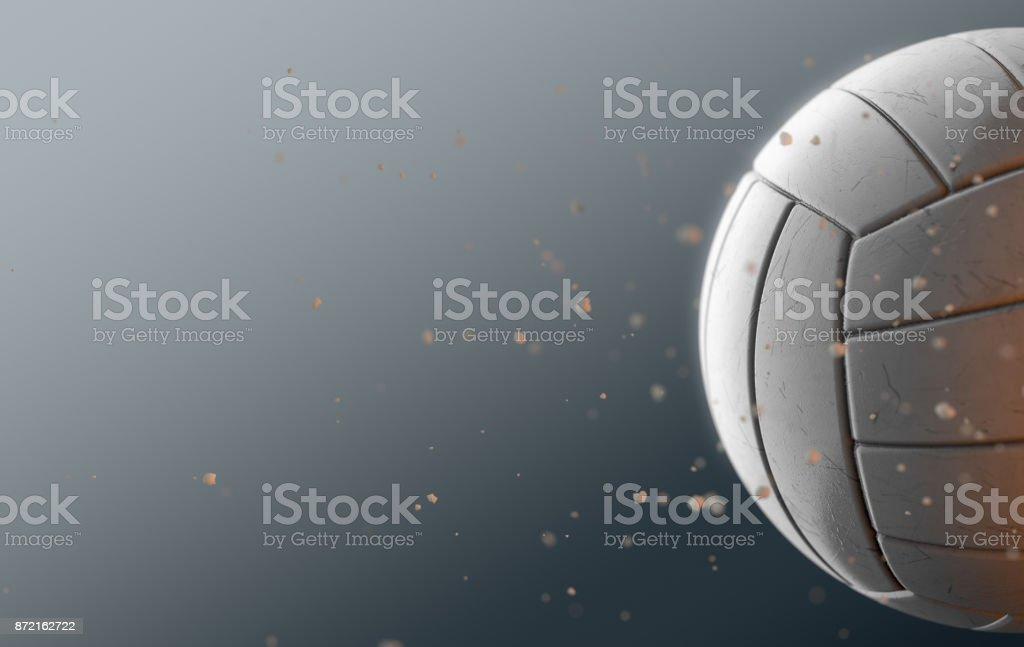 Volley-ball en vol - Photo
