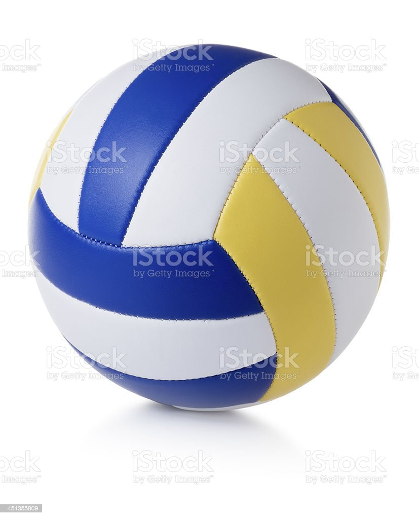 Volleyball Isolated on White stock photo
