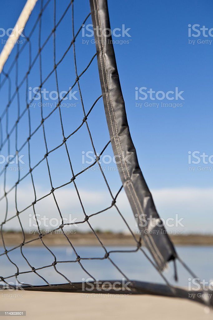 Volleyball Net (Closeup) stock photo