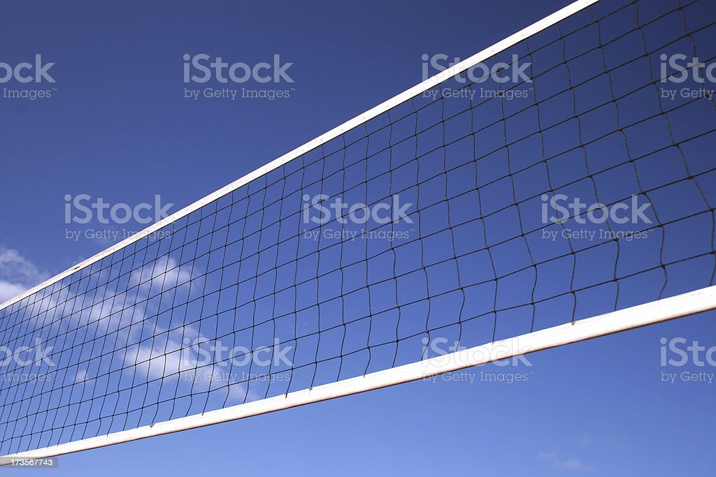 Volleyball Net royalty-free stock photo