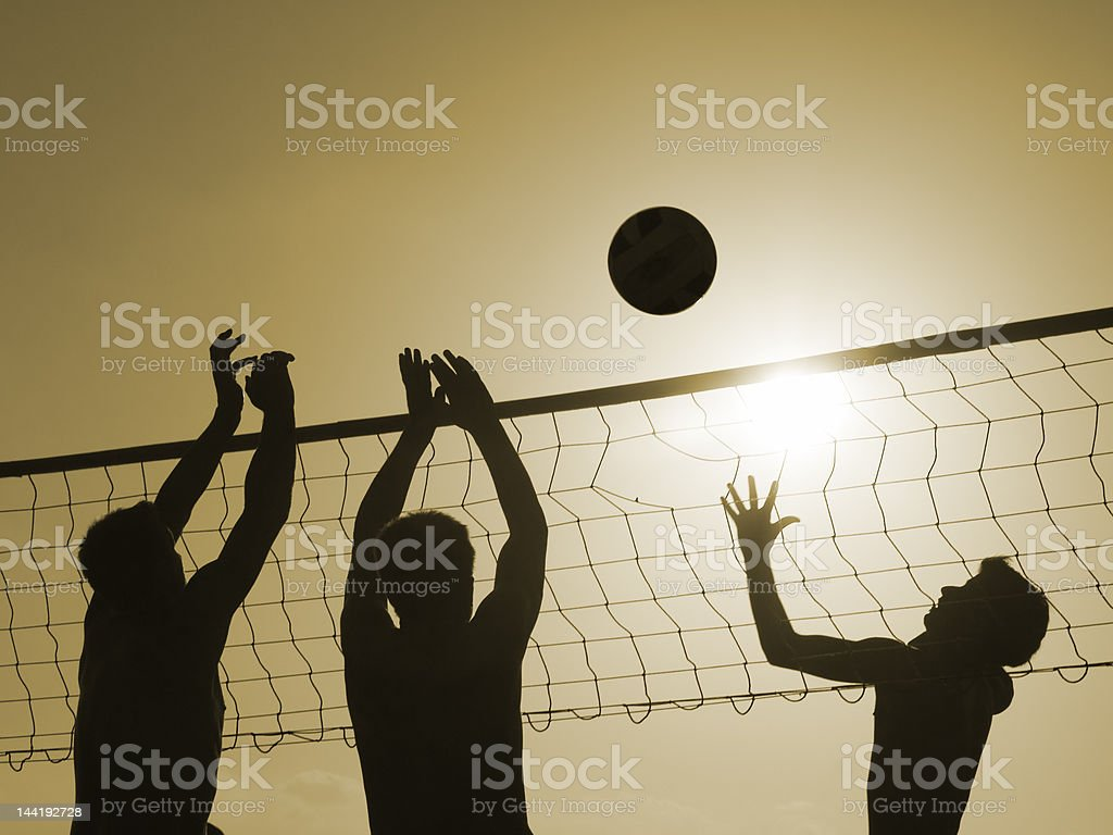 Volley-ball stock photo