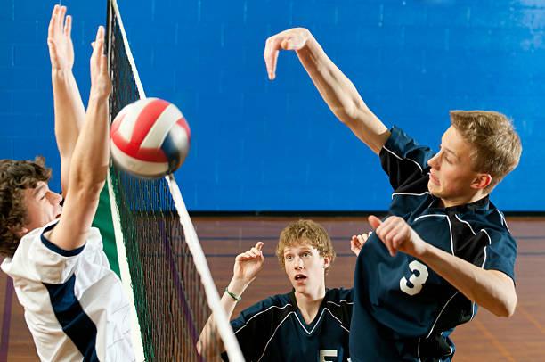 volleyball - 殺球 個照片及圖片檔