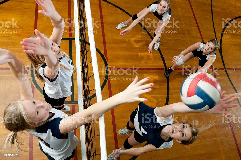 Cancha de voleibol - foto de stock