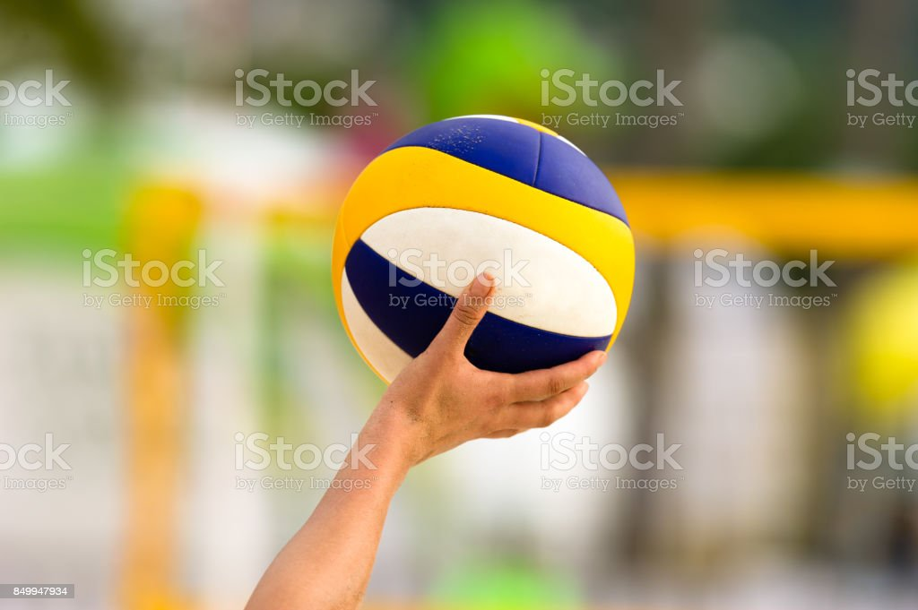 - Volleyball Player – Foto