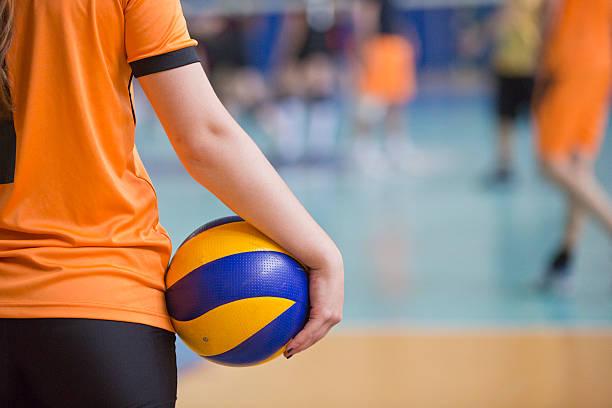 capacitación de voleibol - juego de vóleibol fotografías e imágenes de stock