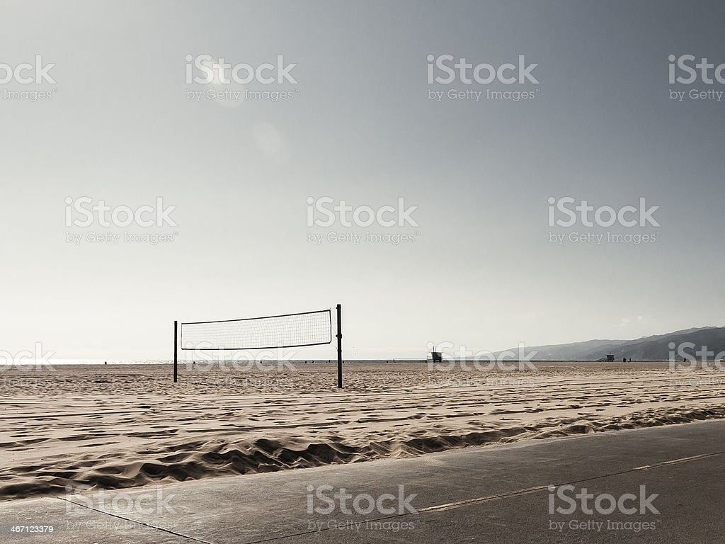 Volleyballnetz royalty-free stock photo