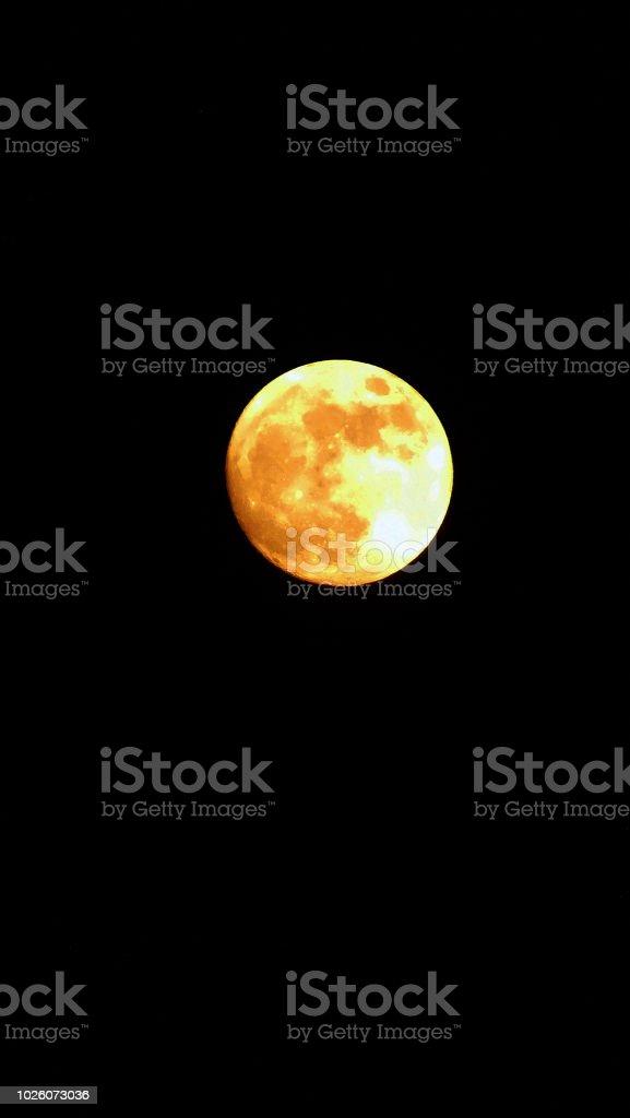 Vollmond - Lizenzfrei Astronomie Stock-Foto