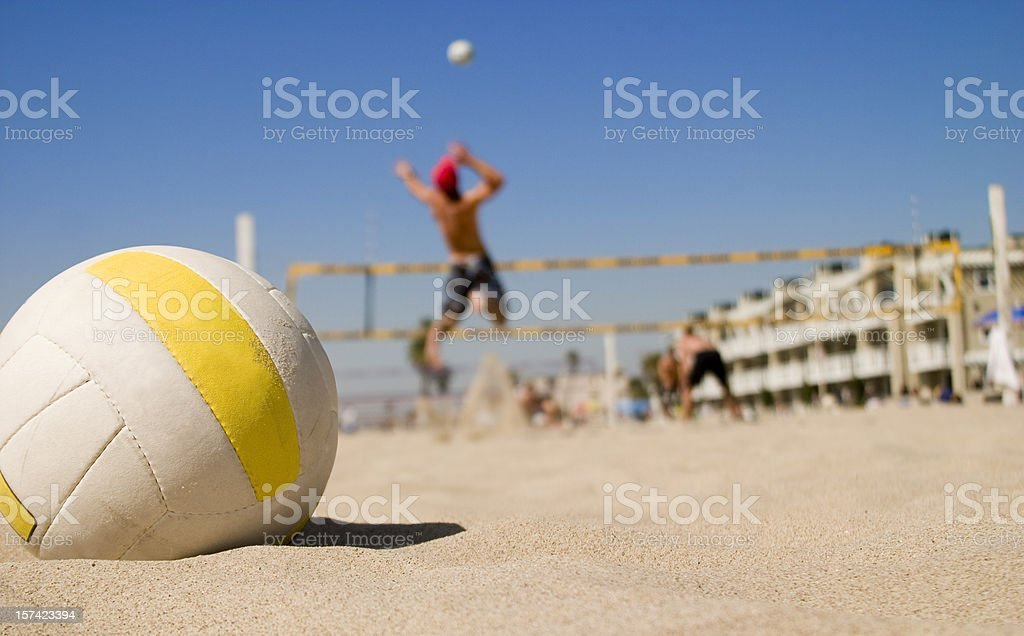 Vollyball Spike stock photo