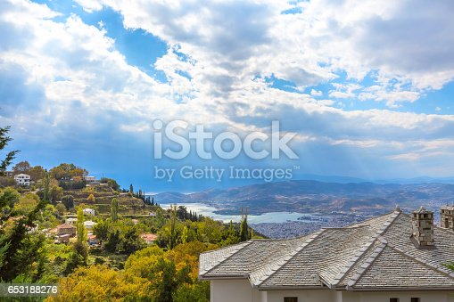 istock Volos city view from Pelion mount, Greece 653188276